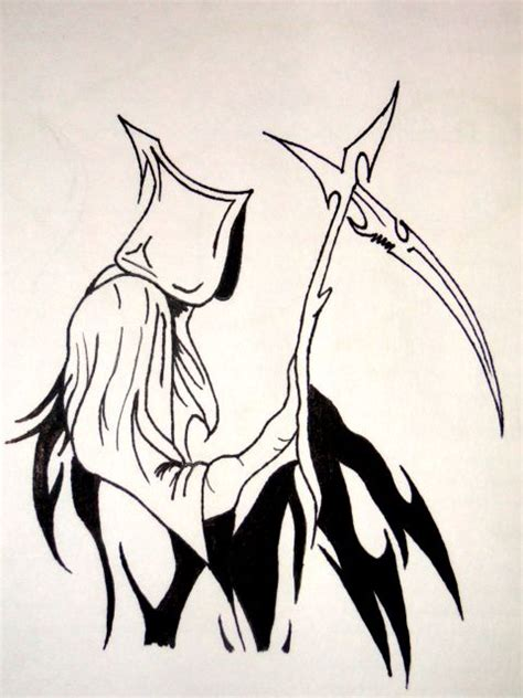 tribal reaper tattoo designs grim reaper by payasa x3 on deviantart