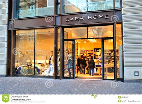 zara home store editorial photography image of legendary