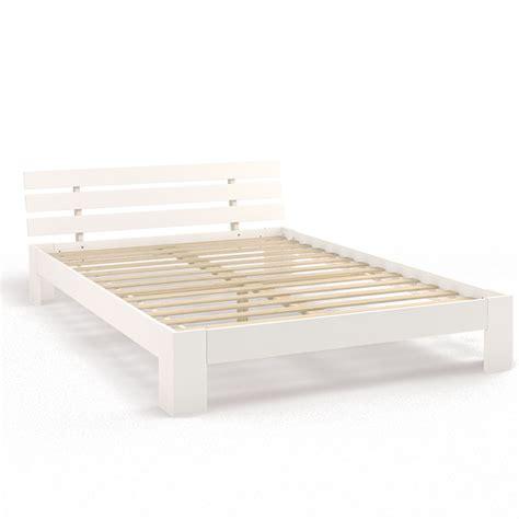 letti legno bianco legno letto matrimoniale 140 x 200 cm telaio letto a