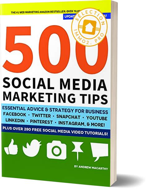 500 social media marketing tips essential advice hints and strategy for business instagram linkedin and more books une s 233 lection de 11 livres incontournables 224 ajouter 224