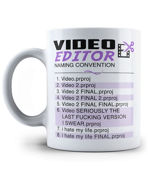mug design editor video editor naming convention mug