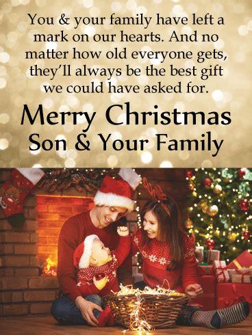 son  left  mark     hearts   holiday season   perfect chance