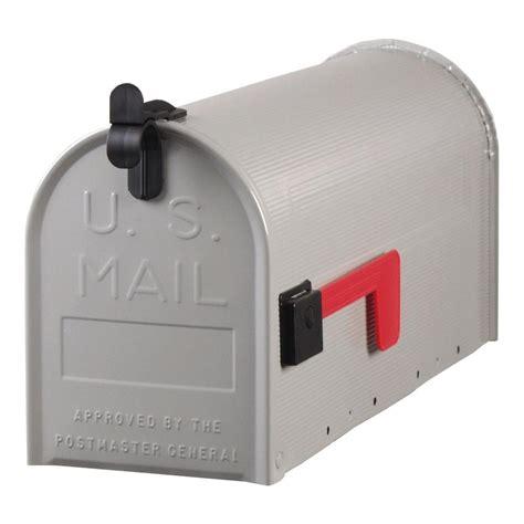 gibraltar mailboxes standard steel ribbed post mount