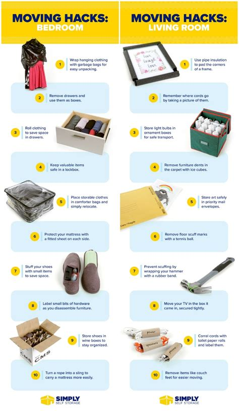 moving hacks 25 genius moving hacks that ll protect your stuff and save