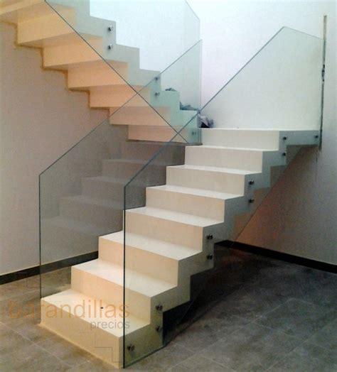 escaleras con barandilla de cristal cristal vi11 barandillas