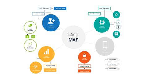 Mind Map Template Powerpoint Free Mind Map Powerpoint Template Ppt Presentation Theme