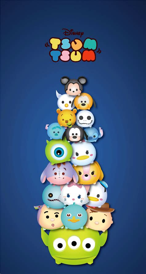 wallpaper iphone disney tsum tsum tsum tsum disney tsum tsum ツムツム line 壁紙 iphone トイストーリー
