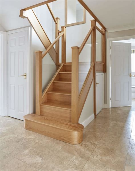glass banister staircase glass staircases neville johnson
