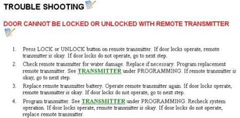 door locks  working electrical problem  cyl  wheel drive