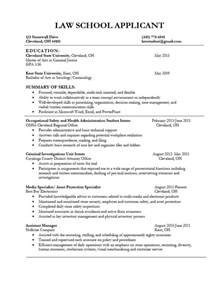 resume for law application best resume example