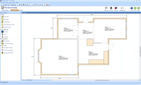 floor plan drawing software free free manual j residential heat load calculation