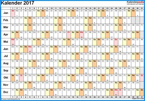 Kalender 2017 Pedia Kalender 2016 Excel Kostenlos Ausdrucken Calendar