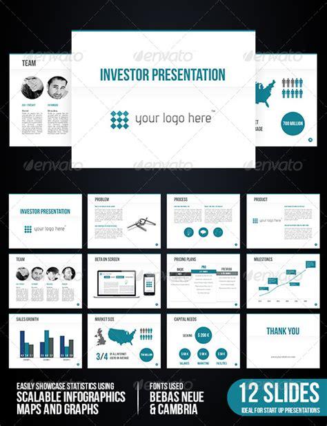 investor presentation template investor presentation presentation templates template