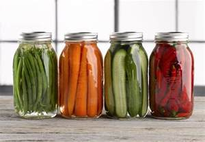 preserving alkaline and acidic food