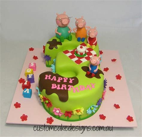 Peppa Pig Cake Decorations by Princess Peppa Pig Cake Cakecentral