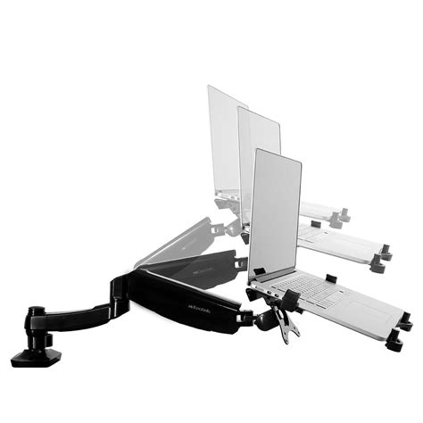 desk laptop mount laptop mounts brackets loctek ergonomic