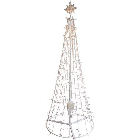 ge itwinkle christmas trees ge itwinkle 7 5 quot outdoor metal tree walmart