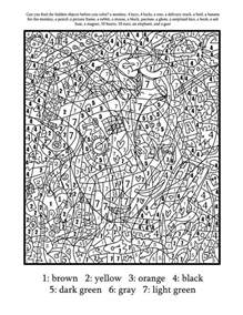 complex color by number printables color by numbers best coloring pages for