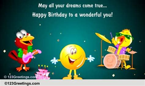 Birthday Quotes For A 3 Year Boy Happy Birthday To A Wonderful You Free For Kids Ecards