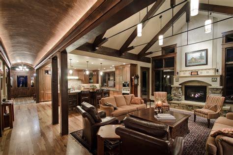 Kitchen Cabinets Minnesota by Barrel Vault Great Room