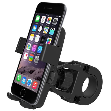 Bicycle Phone Holder 4 Penyanggah One Touch T0210 1 iottie iottie easy one touch universal bike mount holder for iphone 5s 5c 5 4s smartphone
