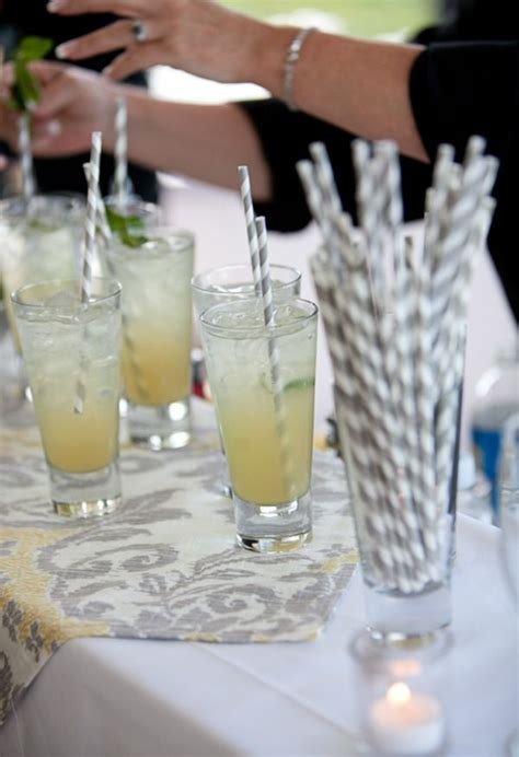 strong cocktails with fancy straws happily ever after