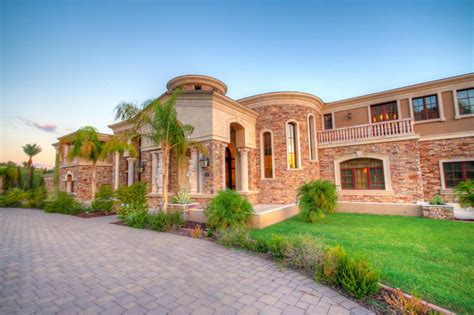 Rec Room Floor Plans by 21 000 Square Foot Mega Mansion In Phoenix Az Re Listed