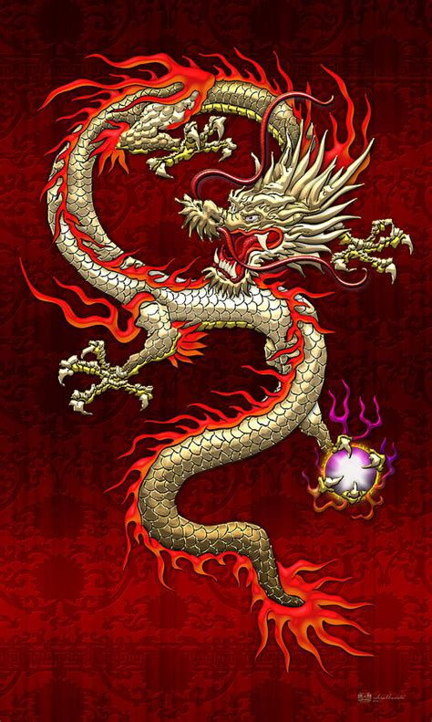 red chinese dragon pictures to pin on pinterest pinsdaddy