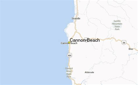 cannon beach weather station record historical weather