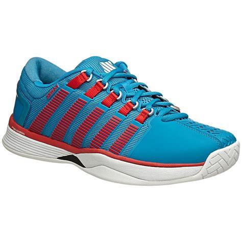 k swiss tennis shoes k swiss hypercourt s tennis shoe blue white