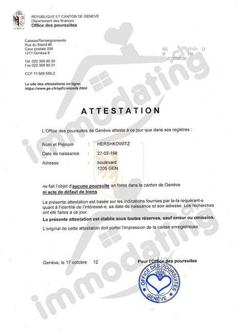 Exemple Lettre De Garant Pour Un Logement Attestation De Poursuite B 233 Ton Pour Location Immodating