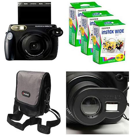 fuji instant 210 fujifilm instax 210 deal with 3 packs of and