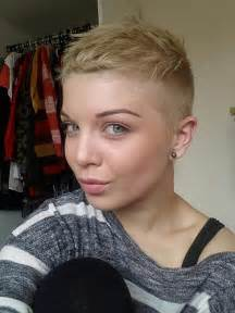 ultra haircuts gallery girls partially shaved short hairstyles