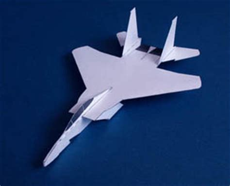 How To Make F15 Paper Airplane - boeing mcdonell douglas f 15 eagle