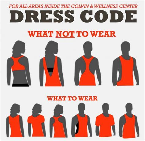 dress code for dress code department of wellness