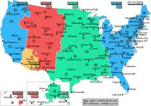 us time zones map gmt eastern time zone map with cities