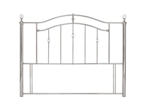 4ft metal headboards serene ashley 4ft small double nickel metal headboard with