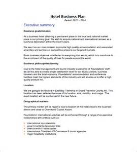 hospitality business plan template business plan template 97 free word excel pdf psd