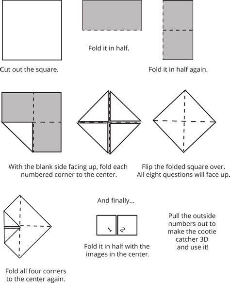 catcher diagram simple fhe conference review cootie catcher the