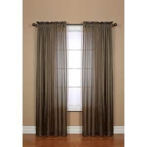 Semi Sheer Curtains Habitat Semi Sheer Curtains 96x84 Rod Pocket In Taupe