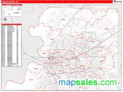 Tennessee Zip Code Map by Shelby County Tn Zip Code Map