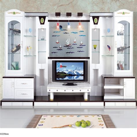 furniture units living room modern brief fashion white paint living room furniture wine glass cabinet office combination