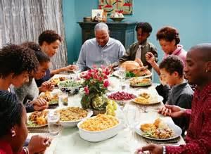 family eating thanksgiving dinner happy thanksgiving