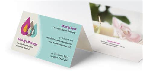 Home Inside Design by Folded Business Cards Tent Cards Vistaprint