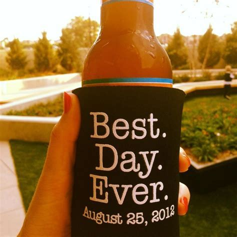 longest day ever? coozie   Wedding Favors   Wedding