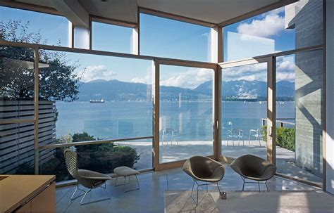 Architectural Glass To Resist Seismic And Climatic Events shaw house patkau architects arch2o