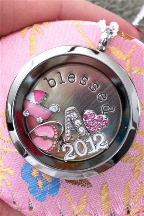 origami owl baby locket origami owl lockets make a baby gift for more