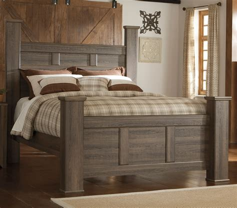 Driftwood Rustic Modern 6 Piece Queen Bedroom Set Modern Rustic Bedroom Furniture