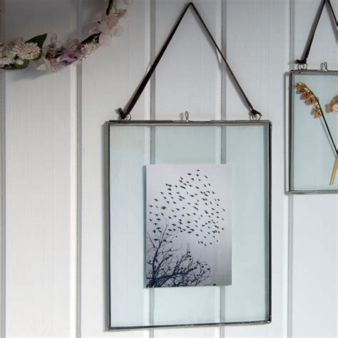 large glass hanging frame dotcomgiftshop