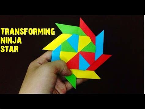 How To Make A Transforming With Paper - how to make a paper transforming origami